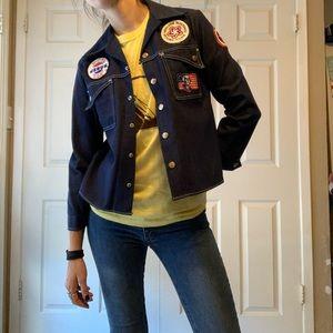 VTG 1976 Bicentennial Billy The Kid Denim Jacket